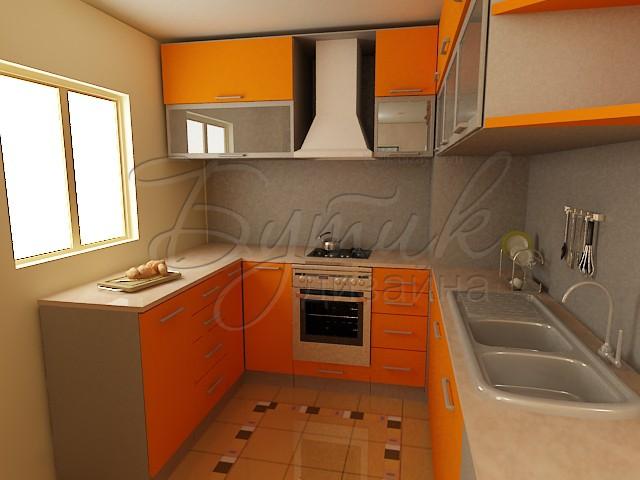 Дизайн кухни 8 кв.м. фото  4
