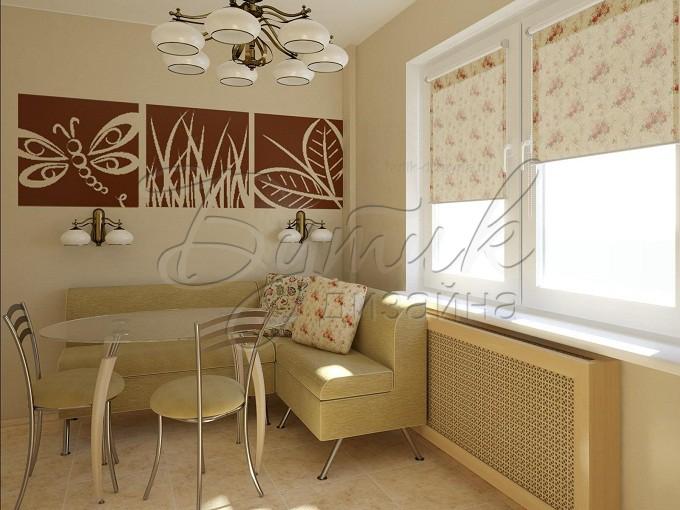 Дизайн кухни 8 кв.м. фото  7