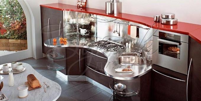 Дизайн кухни 8 кв.м. фото  9