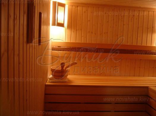 отделка бани и сауны
