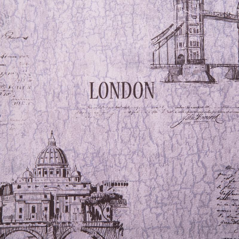 Каталог обоев Леруа Мерлен Обои бумажные, 0,53х10 м, Вояж 10, серый